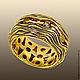 Кольца ручной работы. Кольцо Море, золото 585. Другое серебро авторские украшения. Интернет-магазин Ярмарка Мастеров. Желтый