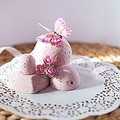 Косметика ручной работы. Ярмарка Мастеров - ручная работа Бомбочки для ванны, маникюра и педикюра Нежность роз. Handmade.