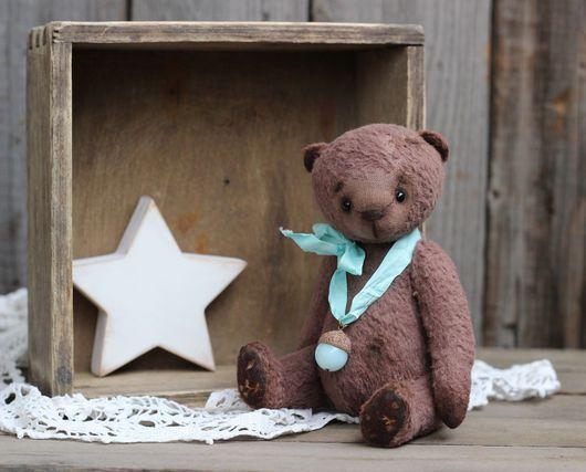 Мишки Тедди ручной работы. Ярмарка Мастеров - ручная работа. Купить Тедди мишка Брауни. Handmade. Коричневый, медвежонок, малыш