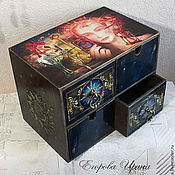 Для дома и интерьера handmade. Livemaster - original item Mini dresser for Tarot cards Magic. Handmade.