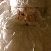 Морозушко-батюшка 3 - ватный Дед Мороз, под елочку