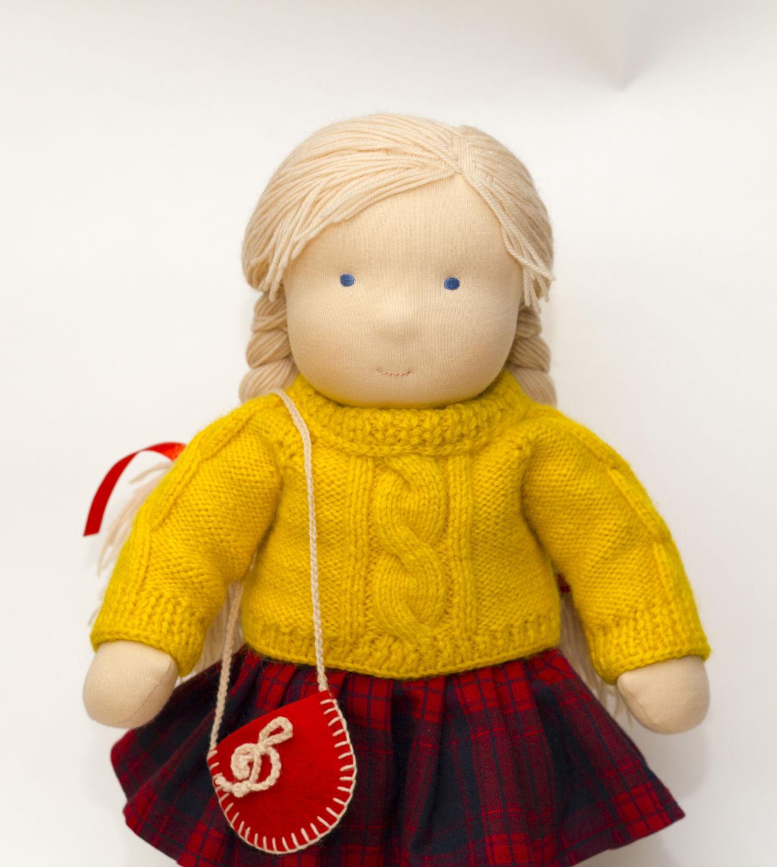 Handmade doll, 41 cm, Stuffed Toys, Moscow,  Фото №1