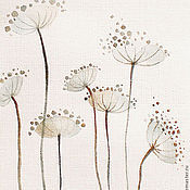 """Картины и панно ручной работы. Ярмарка Мастеров - ручная работа Акварели """"Садовые"""". Handmade."""