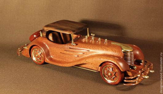 Персональные подарки ручной работы. Ярмарка Мастеров - ручная работа. Купить model car out of wood. Handmade. Разноцветный