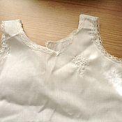 Винтаж ручной работы. Ярмарка Мастеров - ручная работа Платье - сорочка для куклы или мишки № 1. Handmade.