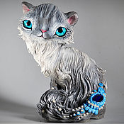 Куклы и игрушки handmade. Livemaster - original item Ofelia Neva masquerade cat. Handmade.
