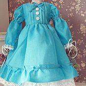 Куклы и игрушки ручной работы. Ярмарка Мастеров - ручная работа Платье  для  куклы БЖД 42- 45 см №19. Handmade.