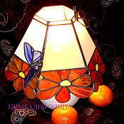 Для дома и интерьера ручной работы. Ярмарка Мастеров - ручная работа Светильник настольный цветочный. Handmade.