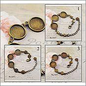 Материалы для творчества handmade. Livemaster - original item The basis for the bracelet 12-16 mm. Art. 01. Handmade.