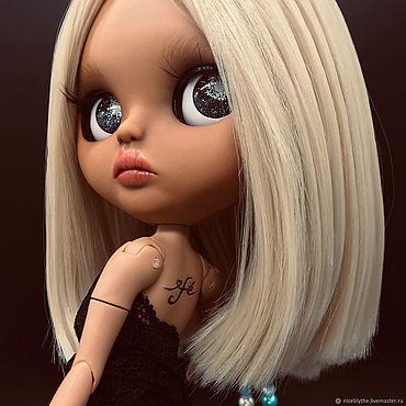 Куклы и игрушки ручной работы. Ярмарка Мастеров - ручная работа Кукла Верочка Blythe TBL Custom Vera кастом ооак кукла Блайз. Handmade.