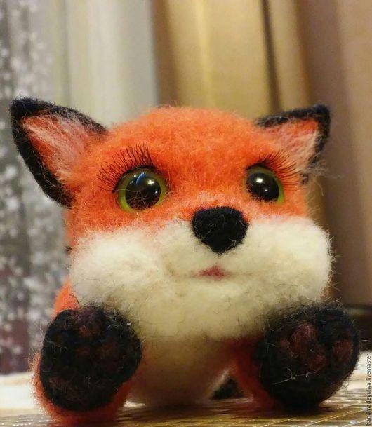 Игрушки животные, ручной работы. Ярмарка Мастеров - ручная работа. Купить Лисёнок Рыжик. Handmade. Рыжий, лисенок игрушка