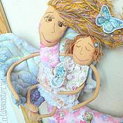 Куклы и игрушки ручной работы. Ярмарка Мастеров - ручная работа А у меня есть дочка, ей скоро полгодочка!. Handmade.