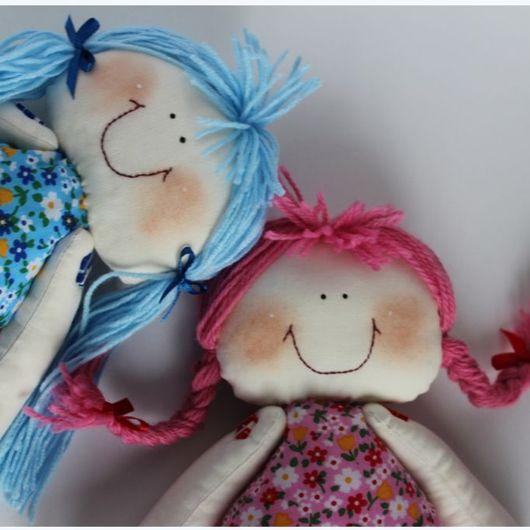 """Человечки ручной работы. Ярмарка Мастеров - ручная работа. Купить Кукла """"Миа"""" с сумочкой. Handmade. Кукла текстильная, 100% хлопок"""