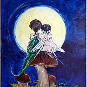 Картины и панно handmade. Livemaster - original item Oil painting a Midsummer night`s Dream. Handmade.