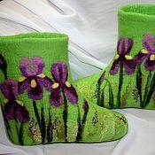 Обувь ручной работы. Ярмарка Мастеров - ручная работа Валенки Ирисы. Handmade.