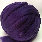 Материалы для творчества handmade. Livemaster - original item Australian Merino Plum. Germany.19 MD. wool for felting. Handmade.