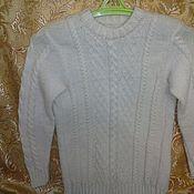 Одежда handmade. Livemaster - original item Sweater White. Handmade.