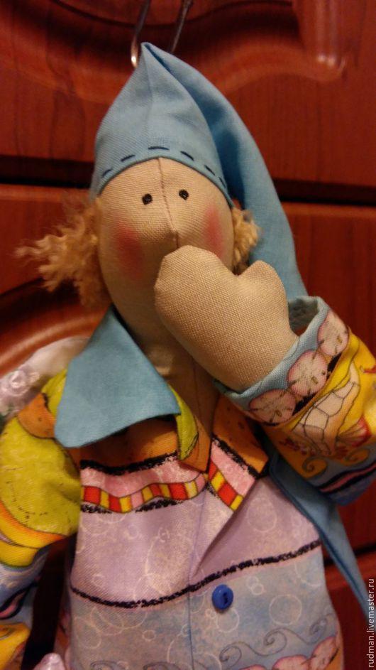 Куклы Тильды ручной работы. Ярмарка Мастеров - ручная работа. Купить Фей - Сплюшкин. Handmade. Серый, подарок, тильда сплюшка