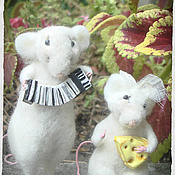 Куклы и игрушки ручной работы. Ярмарка Мастеров - ручная работа Неразлучная парочка. Handmade.