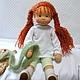 Вальдорфская игрушка ручной работы. Маленькая Принцесса, 38 см. svetlana. Ярмарка Мастеров. Игровая кукла, кукла интерьерная