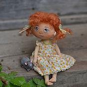 Куклы и игрушки ручной работы. Ярмарка Мастеров - ручная работа Рыжулька:) Ничего не могу с собой поделать - люблю я их:). Handmade.