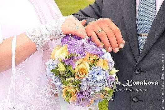 Свадебные цветы ручной работы. Ярмарка Мастеров - ручная работа. Купить Букет невесты. Handmade. Букет невесты, свадьба, букет