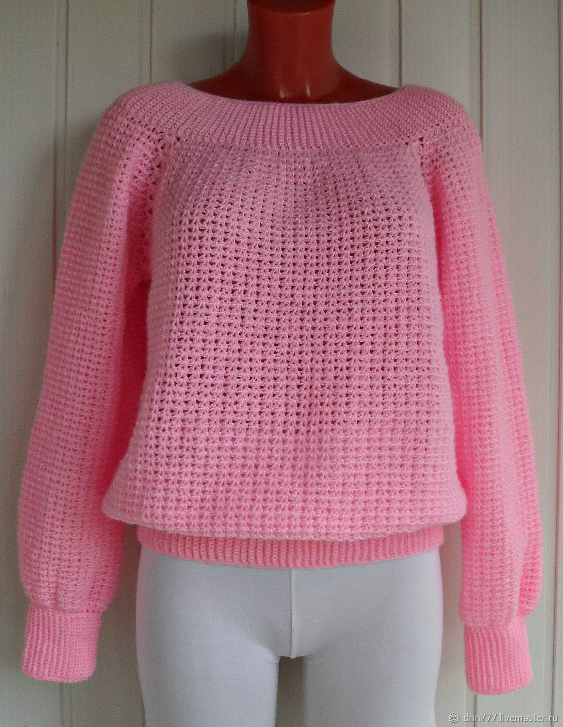 Sweater 'Delicate rose', Sweaters, Omsk,  Фото №1