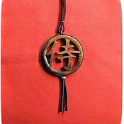 Сувениры и подарки handmade. Livemaster - original item Charm - Japanese kanji SAMURAI. Handmade.