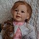 Куклы-младенцы и reborn ручной работы. Ярмарка Мастеров - ручная работа. Купить Катюша. Handmade. Серый, генезис