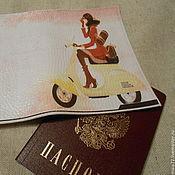 Подарки к праздникам ручной работы. Ярмарка Мастеров - ручная работа Обложки на паспорт 6 видов. Handmade.
