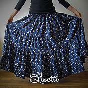 Одежда ручной работы. Ярмарка Мастеров - ручная работа Цветочное облако - юбка в пол. Handmade.