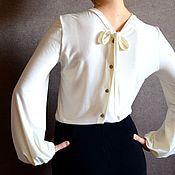 """Одежда ручной работы. Ярмарка Мастеров - ручная работа Блузка """"Серьезная романтика"""". Handmade."""