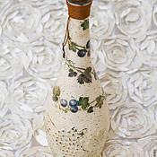 """Сувениры и подарки ручной работы. Ярмарка Мастеров - ручная работа Бутыль """"Лоза"""". Handmade."""
