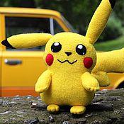 Куклы и игрушки handmade. Livemaster - original item Pokemon Pikachu. Handmade.
