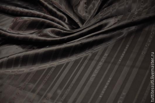 Шитье ручной работы. Ярмарка Мастеров - ручная работа. Купить Подкладочная ткань 11-003-2464. Handmade. Коричневый