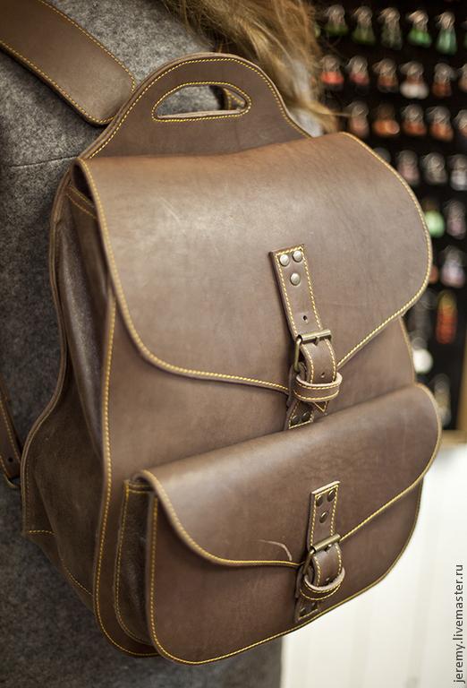 Рюкзаки ручной работы. Ярмарка Мастеров - ручная работа. Купить Рюкзак. Handmade. Рюкзак, рюкзак городской