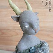 Куклы и игрушки ручной работы. Ярмарка Мастеров - ручная работа Котоленя, будуарная кукла, авторская кукла. Handmade.