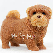 Материалы для творчества handmade. Livemaster - original item Silicone mold for soap Spitz puppy. Handmade.