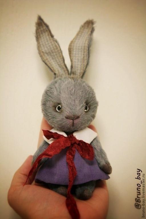 Мишки Тедди ручной работы. Ярмарка Мастеров - ручная работа. Купить Зайчатки. Handmade. Серый, малышка, батист, батистовое платье