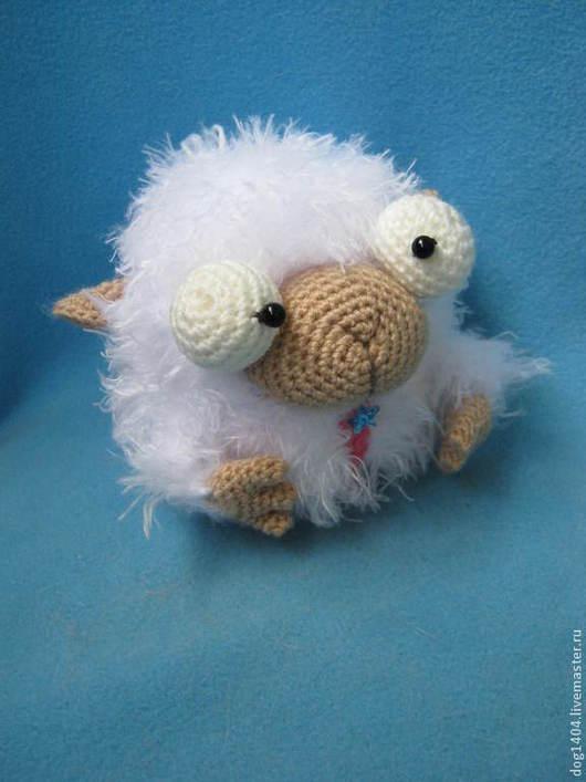 Обучающие материалы ручной работы. Ярмарка Мастеров - ручная работа. Купить Мастер-класс по вязанию смешной овечки. Handmade.