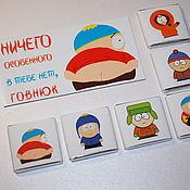 Подарки к праздникам ручной работы. Ярмарка Мастеров - ручная работа Crazy Cartman..Сувенирный набор с персонажами SP. Handmade.