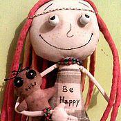Куклы и игрушки ручной работы. Ярмарка Мастеров - ручная работа Кукла Растаманка Хиппи. Handmade.