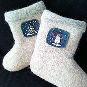 Обувь ручной работы handmade. Livemaster - original item Boots for baby. Handmade.