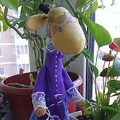 Куклы и игрушки ручной работы. Ярмарка Мастеров - ручная работа Жираф Тильда. Handmade.