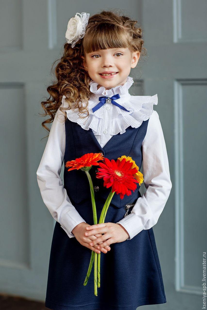 Купить нарядную блузку для девочки 7 лет