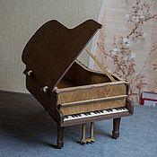 Для дома и интерьера handmade. Livemaster - original item Grand Piano box large. Handmade.