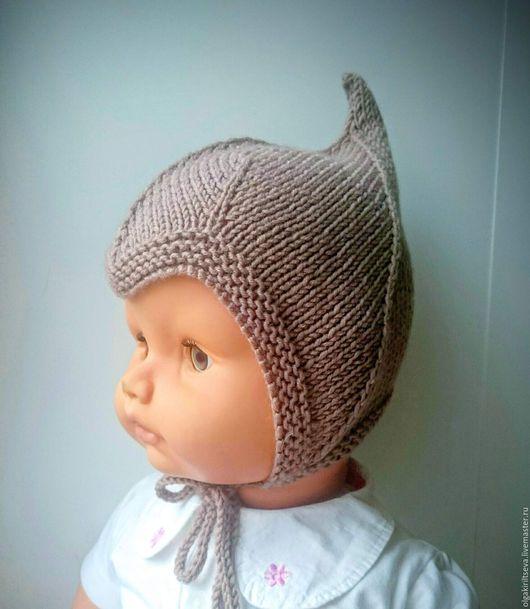"""Вязание ручной работы. Ярмарка Мастеров - ручная работа. Купить Описание по вязанию шапки """"Забавный малыш"""", мк по вязанию, мк шапки. Handmade."""
