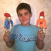 Куклы и игрушки handmade. Livemaster - original item Kulecniky developmental dolls for boys. Handmade.