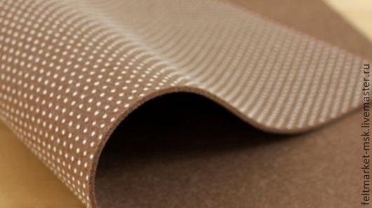 Фетр антискользящий коричневый 2,5 мм Размер листа 22,5х36 см Толщина 2,5 мм Стоимость 220 руб.