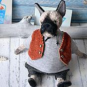 Куклы и игрушки ручной работы. Ярмарка Мастеров - ручная работа Собака тедди Сильвер. Handmade.